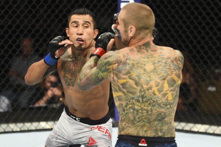 UFCファイトナイト・アイダホ:エディ・ワインランド vs. アレハンドロ・ペレス【アメリカ・アイダホ州ボイシ/2018年7月14日(Photo by Josh Hedges/Zuffa LLC/Zuffa LLC via Getty Images)】