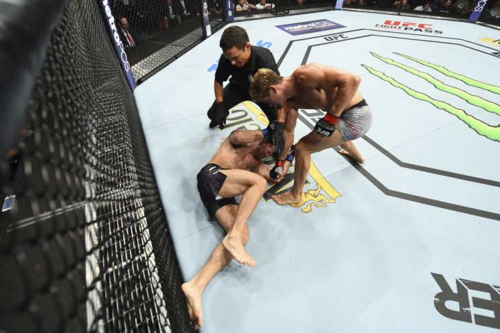 UFCファイトナイト・アイダホ:セージ・ノースカット vs. ザック・オットー【アメリカ・アイダホ州ボイシ/2018年7月14日(Photo by Josh Hedges/Zuffa LLC/Zuffa LLC via Getty Images)】