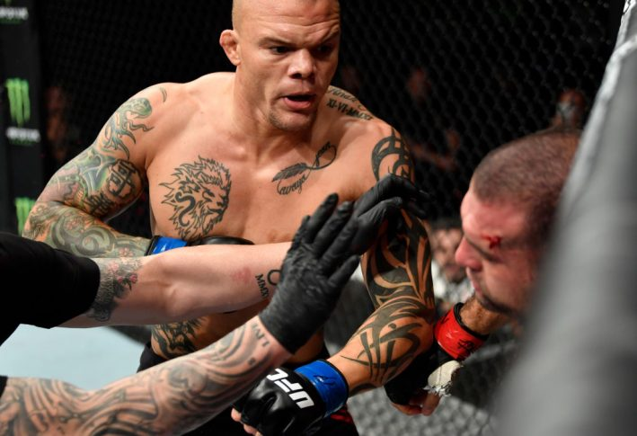 UFCファイトナイト・ハンブルク:マウリシオ・フア vs. アンソニー・スミス【ドイツ・ハンブルク/2018年7月22日(Photo by Jeff Bottari/Zuffa LLC/Zuffa LLC via Getty Images)】
