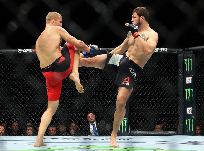 UFC 206:ニキータ・クリロフ vs. ミーシャ・サークノフ【カナダ・トロント/2016年12月11日(Photo by Vaughn Ridley/Getty Images)】