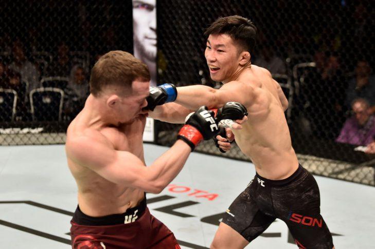 UFCファイトナイト・モスクワ:ピョートル・ヤン vs. ソン・ジンス【ロシア・モスクワ/2018年9月15日(Photo by Jeff Bottari/Zuffa LLC/Zuffa LLC via Getty Images)】