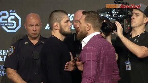 UFC 229:ニューヨーク記者会見