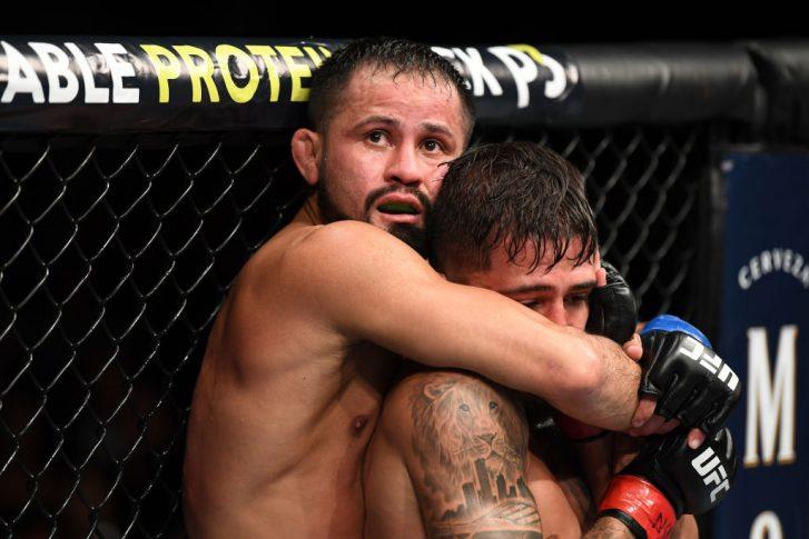 UFC 229:セルジオ・ペティス vs. ジュシー・フォルミーガ【アメリカ・ネバダ州ラスベガス/2018年10月6日(Photo by Josh Hedges/Zuffa LLC/Zuffa LLC)】