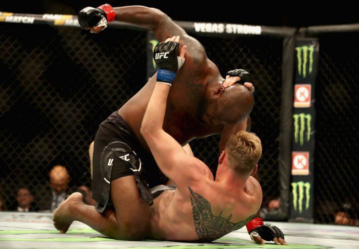 UFC 229:デリック・ルイス vs. アレクサンドル・ボルコフ【アメリカ・ネバダ州ラスベガス/2018年10月6日(Photo by Christian Petersen/Zuffa LLC/Zuffa LLC)】