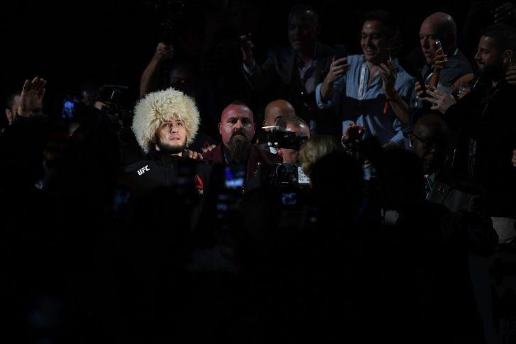 UFC 229:ハビブ・ヌルマゴメドフ vs. コナー・マクレガー【アメリカ・ネバダ州ラスベガス/2018年10月6日(Photo by Josh Hedges/Zuffa LLC/Zuffa LLC)】