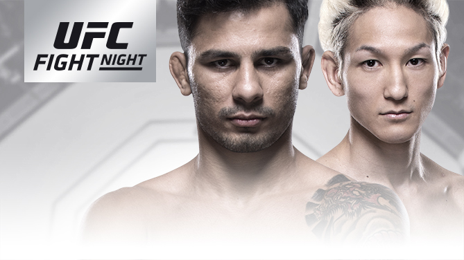 UFCファイトナイト・アルゼンチン:アレクサンドル・パントーハ vs. 佐々木憂流迦