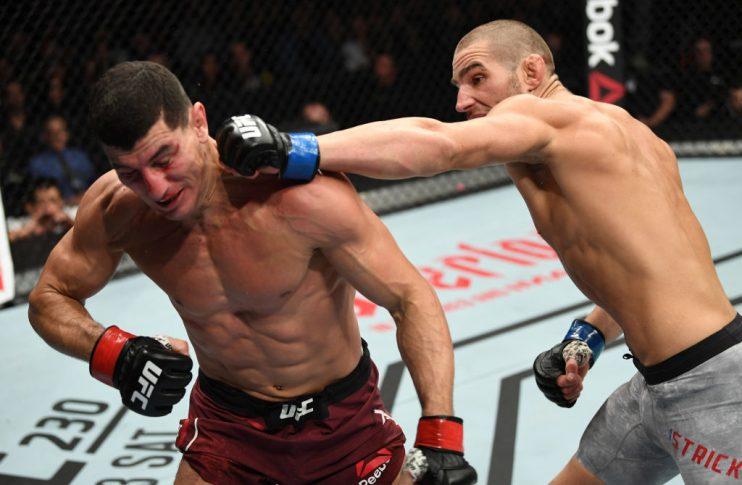 UFCファイトナイト・モンクトン:ノーディン・タレブ vs. ショーン・ストリックランド【カナダ・ニューブランズウィック州モンクトン/2018年10月27日(Photo by Jeff Bottari/Zuffa LLC/Zuffa LLC via Getty Images)】