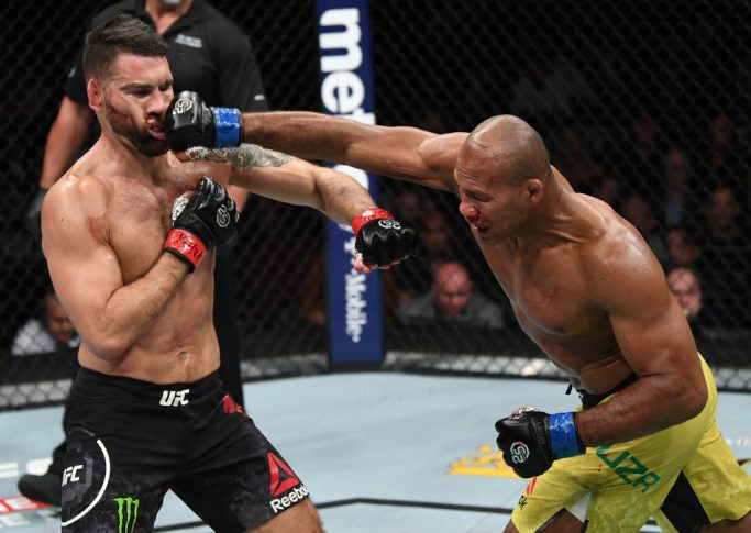 UFC 230:クリス・ワイドマン vs. ジャカレ・ソウザ【アメリカ・ニューヨーク州ニューヨーク/2018年11月3日(Photo by Jeff Bottari/Zuffa LLC/Zuffa LLC via Getty Images)】