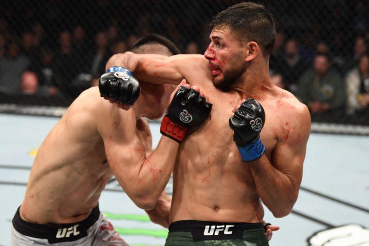 UFCファイトナイト・デンバー:ジョン・チャンソン vs. ヤイール・ロドリゲス【アメリカ・コロラド州デンバー/2018年11月10日(Photo by Josh Hedges/Zuffa LLC/Zuffa LLC via Getty Images)】