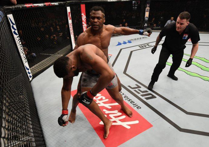 UFCファイトナイト北京:カーティス・ブレイズ vs. フランシス・ガヌー【中国・北京/2018年11月24日(Photo by Jeff Bottari/Zuffa LLC/Zuffa LLC via Getty Images)】