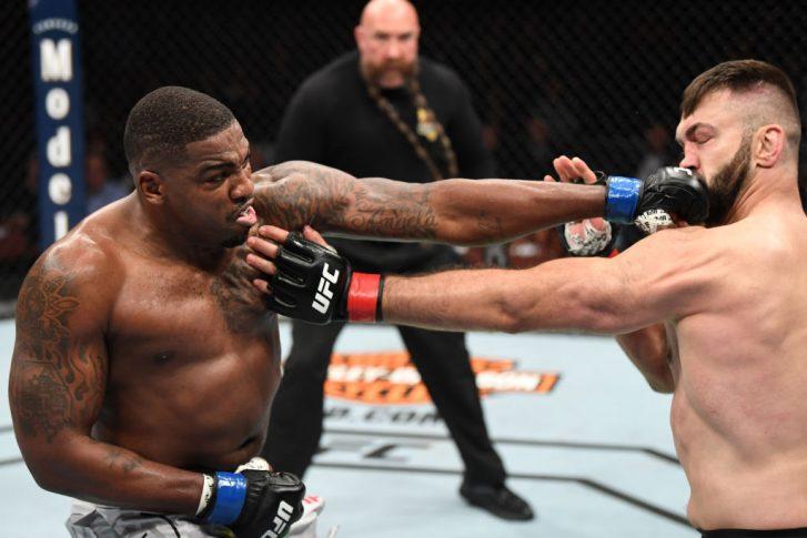 UFC 232:アンドレイ・アルロフスキー vs. ウォルト・ハリス【アメリカ・カリフォルニア州イングルウッド/2018年12月29日(Photo by Josh Hedges/Zuffa LLC/Zuffa LLC via Getty Images)】