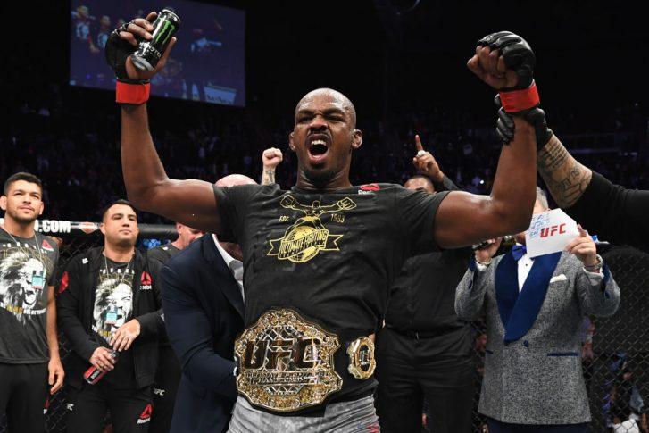 UFC 232:ジョン・ジョーンズ vs. アレクサンダー・グスタフソン【アメリカ・カリフォルニア州イングルウッド/2018年12月29日(Photo by Josh Hedges/Zuffa LLC/Zuffa LLC via Getty Images)】