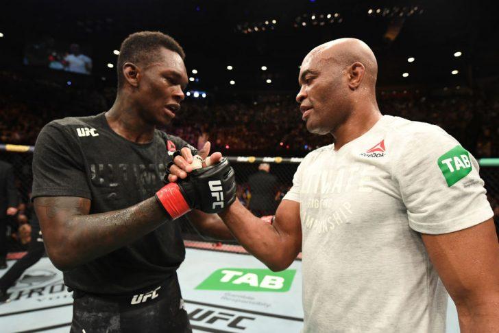 UFC 234:会場熱狂の試合はアデ...