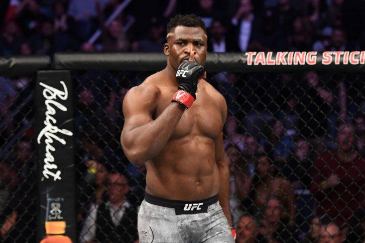 UFCファイトナイト・フェニックス:フランシス・ガヌー vs. ケイン・ヴェラスケス【アメリカ・アリゾナ州フェニックス/2019年2月17日(Photo by Josh Hedges/Zuffa LLC/Zuffa LLC via Getty Images)】
