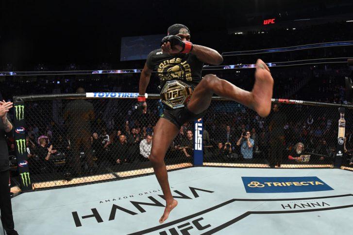 UFC 235:ジョン・ジョーンズ vs. アンソニー・スミス【アメリカ・ネバダ州ラスベガス/2019年3月2日(Photo by Jeff Bottari/Zuffa LLC/Zuffa LLC)】