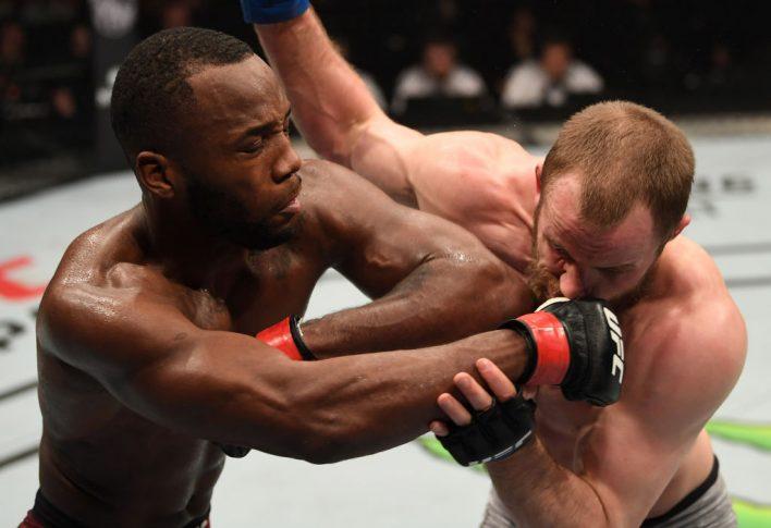 UFCファイトナイト・ロンドン:レオン・エドワーズ vs. グンナー・ネルソン【イギリス・ロンドン/2019年3月16日(Photo by Jeff Bottari/Zuffa LLC/Zuffa LLC via Getty Images)】