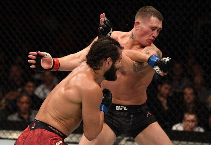 UFCファイトナイト・ロンドン:ダレン・ティル vs. ホルヘ・マスヴィダル【イギリス・ロンドン/2019年3月16日(Photo by Jeff Bottari/Zuffa LLC/Zuffa LLC via Getty Images)】