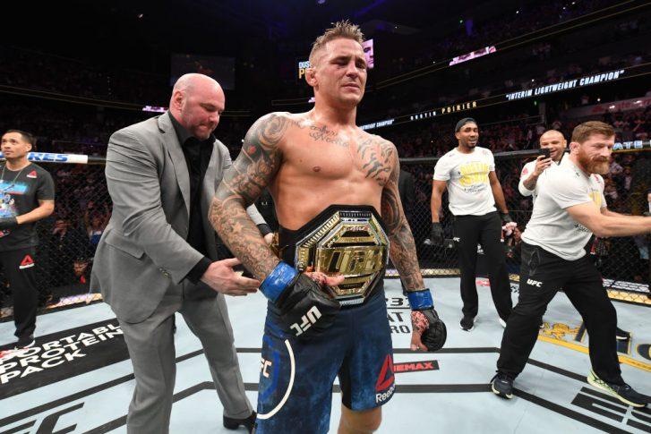 UFC 236:マックス・ホロウェイ vs. ダスティン・ポワリエ【アメリカ・ジョージア州アトランタ/2019年4月13日(Photo by Josh Hedges/Zuffa LLC/Zuffa LLC via Getty Images)】