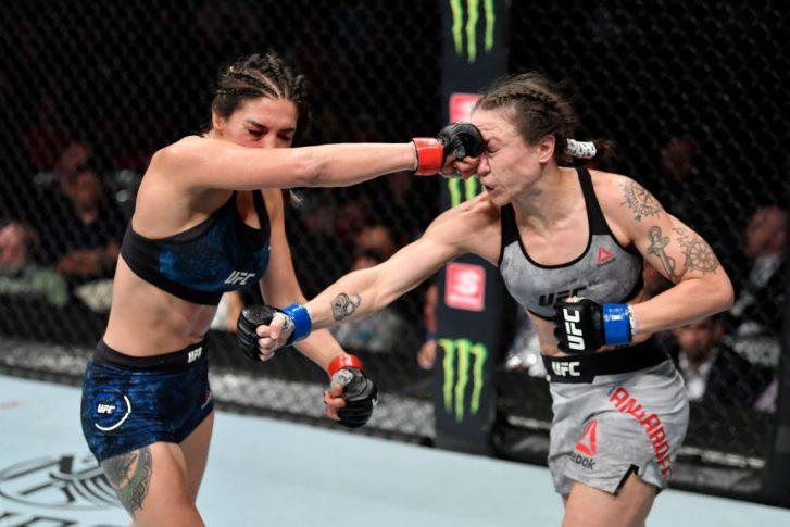 UFC 238:タティアナ・スアレス vs. ニーナ・アンサロフ【アメリカ・イリノイ州シカゴ/2019年6月8日(Photo by Jeff Bottari/Zuffa LLC/Zuffa LLC via Getty Images)】