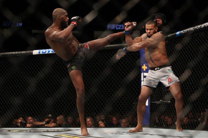 UFC 239:ジョン・ジョーンズ vs. チアゴ・サントス【アメリカ・ネバダ州ラスベガス/2019年7月6日(Photo by Christian Petersen/Zuffa LLC/Zuffa LLC)】