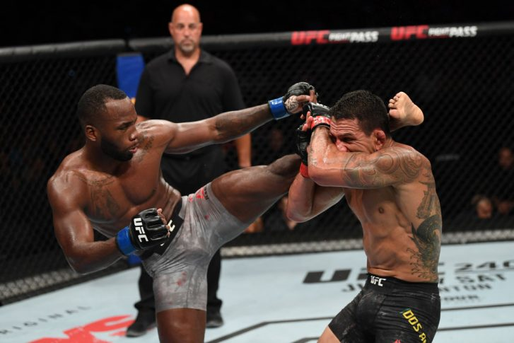 UFCファイトナイト・サンアントニオ:ハファエル・ドス・アンジョス vs. レオン・エドワーズ【アメリカ・テキサス州サンアントニオ/2019年7月20日(Photo by Josh Hedges/Zuffa LLC/Zuffa LLC via Getty Images)】