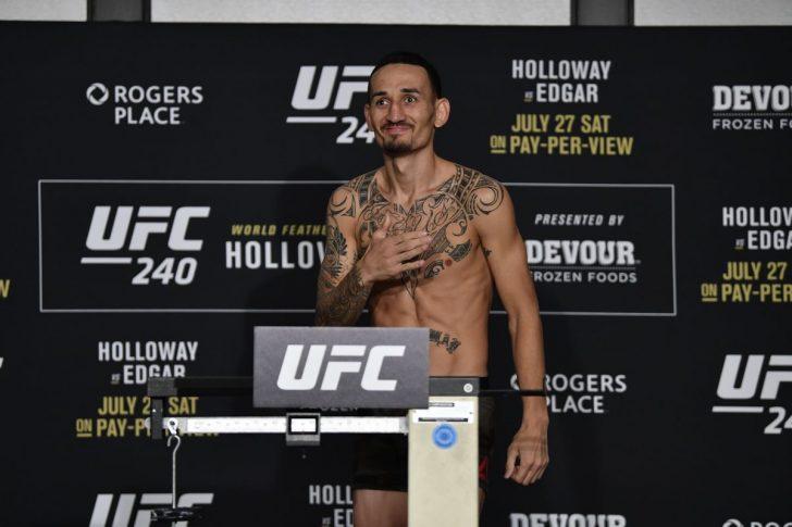 UFC 240:公式計量結果 | UFC JA...