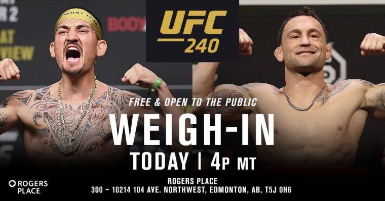 UFC 240 | UFC JAPAN