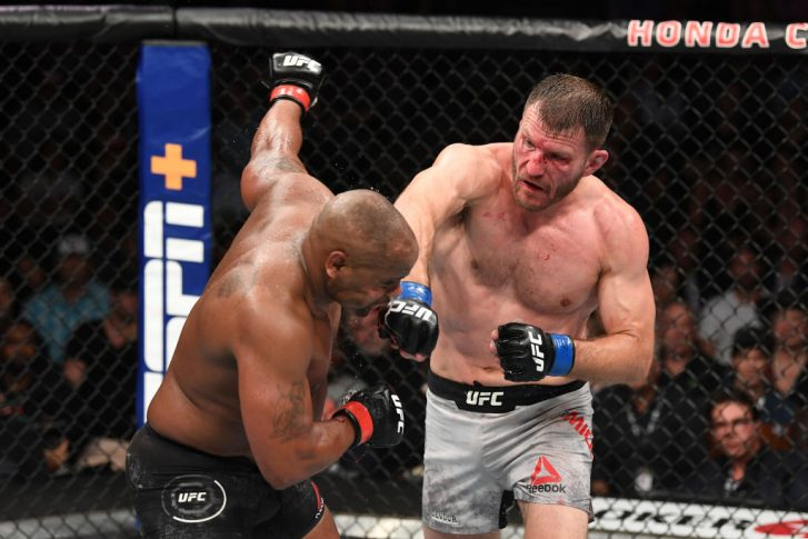 UFC 241:ダニエル・コーミエ vs. スティペ・ミオシッチ【アメリカ・カルフォルニア州アナハイム/2019年8月17日(Photo by Josh Hedges/Zuffa LLC/Zuffa LLC via Getty Images)】
