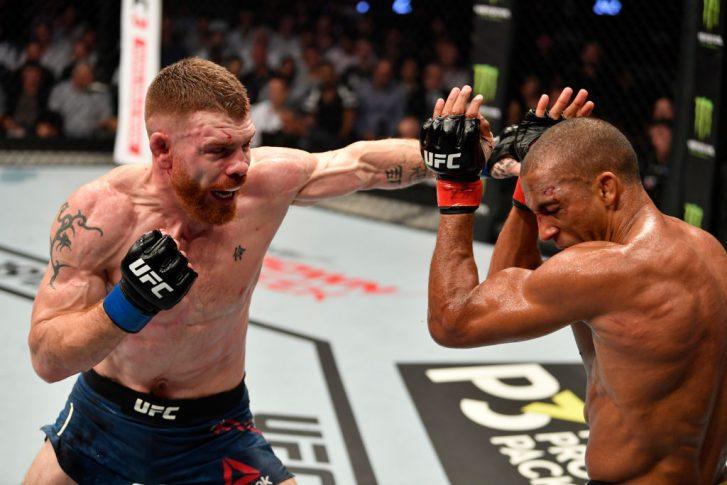 UFC 242:エドソン・バルボーザ vs. ポール・フェルダー【アラブ首長国連邦・アブダビ/2019年9月7日(Photo by Jeff Bottari/Zuffa LLC/Zuffa LLC via Getty Images)】