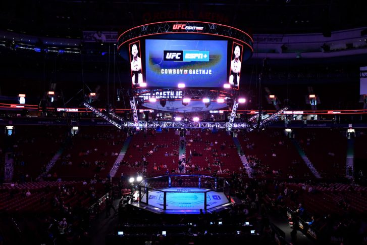 UFCファイトナイト・バンクーバー:オクタゴン【カナダ・ブリティッシュコロンビア州バンクーバー/2019年9月14日(Photo by Jeff Bottari/Zuffa LLC/Zuffa LLC)】