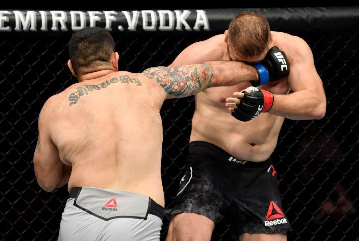 UFCファイトナイト・バンクーバー:マルチン・ティブラ vs. アウグスト・サカイ【カナダ・ブリティッシュコロンビア州バンクーバー/2019年9月14日(Photo by Jeff Bottari/Zuffa LLC/Zuffa LLC)】