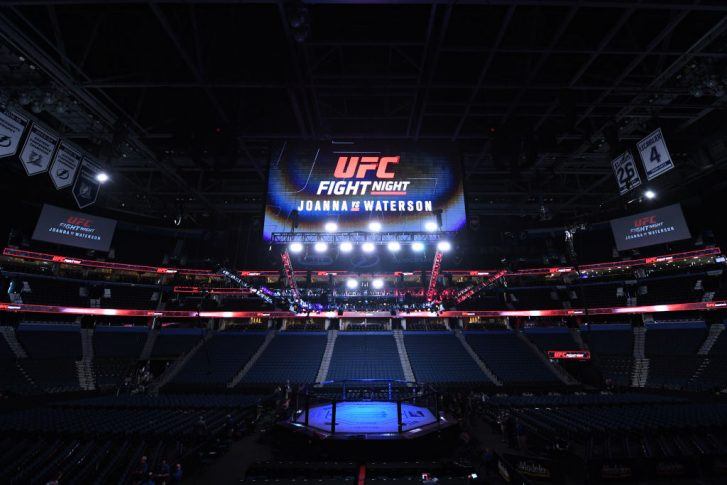 UFCファイトナイト・タンパ:オクタゴン【アメリカ・フロリダ州タンパ/2019年10月12日(Photo by Josh Hedges/Zuffa LLC via Getty Images)】
