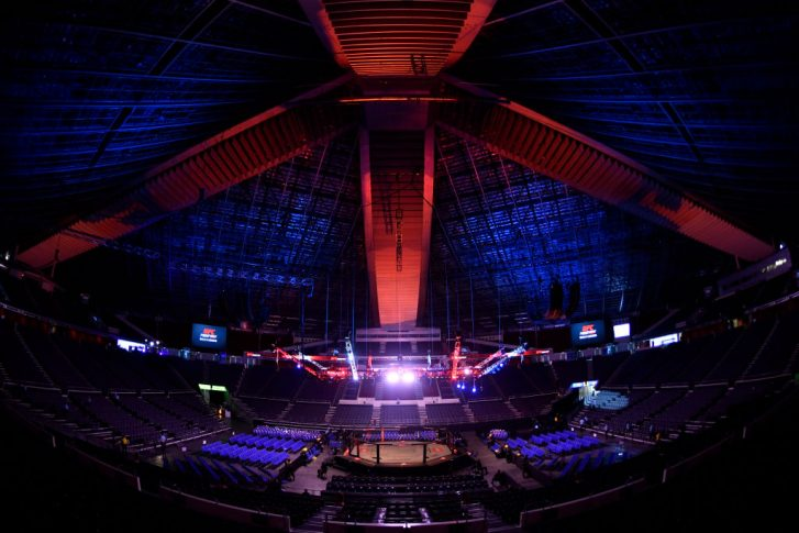 UFCファイトナイト・シンガポール:オクタゴン【シンガポール・シンガポール/2019年10月26日(Photo by Jeff Bottari/Zuffa LLC via Getty Images)】