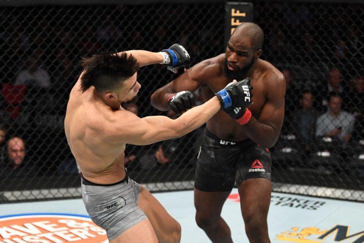 UFC 244:コーリー・アンダーソン vs. ジョニー・ウォーカー【アメリカ・ニューヨーク州ニューヨーク/2019年11月2日(Photo by Josh Hedges/Zuffa LLC via Getty Images)】