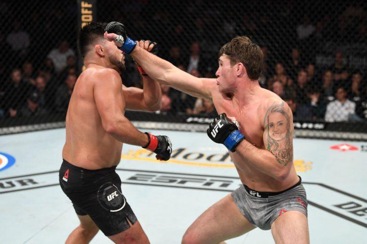 UFC 244:ケルヴィン・ガステラム vs. ダレン・ティル【アメリカ・ニューヨーク州ニューヨーク/2019年11月2日(Photo by Josh Hedges/Zuffa LLC via Getty Images)】