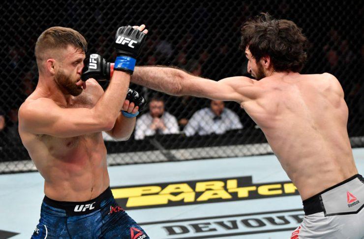 UFCファイトナイト・モスクワ:ザビット・マゴメドシャリポフ vs. カルヴィン・ケーター【ロシア・モスクワ/2019年11月9日(Photo by Jeff Bottari/Zuffa LLC/Zuffa LLC via Getty Images)】