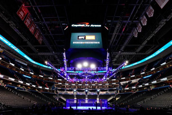 UFCファイトナイト・ワシントン:オクタゴン【アメリカ・ワシントンD.C/2019年12月7日(Photo by Jeff Bottari/Zuffa LLC via Getty Images)】