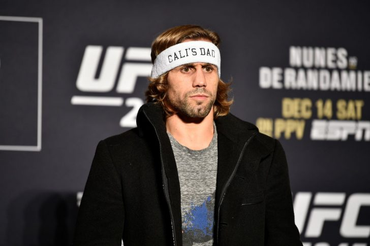 UFC 245:ユライア・フェイバー【2019年12月12日/アメリカ・ネバダ州ラスベガス(Photo by Chris Unger/Zuffa LLC via Getty Images)】