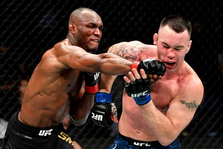 UFC 245:カマル・ウスマン vs. コルビー・コビントン【アメリカ・ネバダ州ラスベガス/2019年12月14日(Photo by Jeff Bottari/Zuffa LLC)】