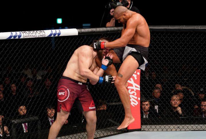 UFCファイトナイト釜山:シリル・ガーヌとタナー・ボーザー【大韓民国・釜山東莱区/2019年12月21日(Photo by Jeff Bottari/Zuffa LLC via Getty Images)】