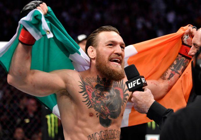 UFC 246:コナー・マクレガー vs. ドナルド・セラーニ【アメリカ・ネバダ州ラスベガス/2020年1月18日(Photo by Jeff Bottari/Zuffa LLC)】