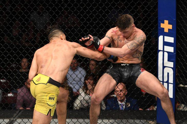 UFCファイトナイト・ニューメキシコ:ディエゴ・サンチェス vs. ミシェル・ペレイラ【アメリカ・ニューメキシコ州リオランチョ/2020年2月15日(Photo by Josh Hedges/Zuffa LLC via Getty Images)】