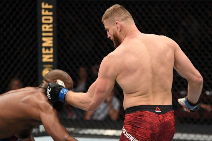 UFCファイトナイト・ニューメキシコ:コーリー・アンダーソン vs. ヤン・ブラホビッチ【アメリカ・ニューメキシコ州リオランチョ/2020年2月15日(Photo by Josh Hedges/Zuffa LLC via Getty Images)】