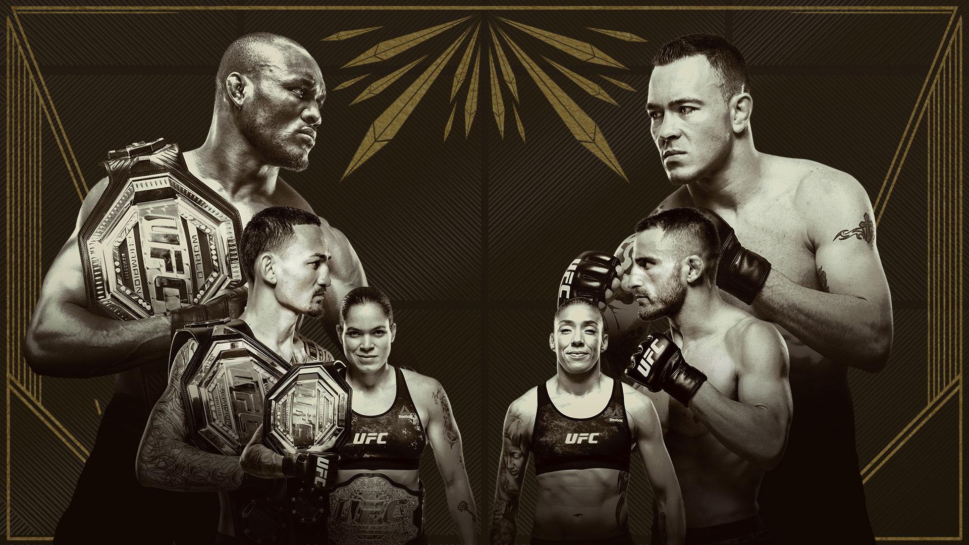 UFC 245:ウスマン vs. コビントン