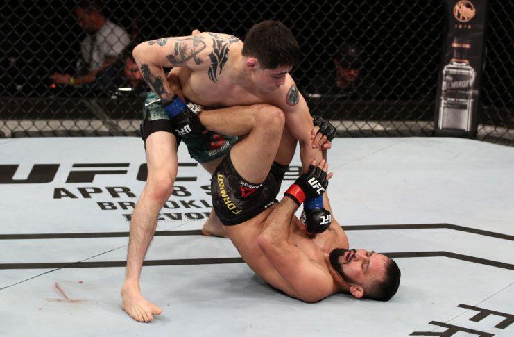 UFCファイトナイト・ブラジリア:ジュシー・フォルミーガ vs. ブランドン・モレノ【ブラジル・ブラジリア/2020年3月14日(Photo by Buda Mendes/Zuffa LLC)】