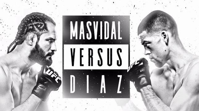 UFC 244:マスヴィダル vs. ディアス