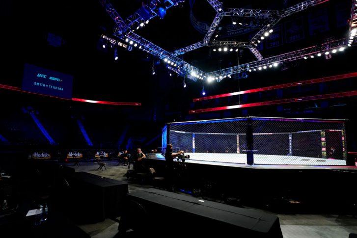 UFCファイトナイト・ジャクソンビル:オクタゴン【アメリカ・フロリダ州ジャクソンビル/2020年5月13日(Photo by Cooper Neill/Zuffa LLC via Getty Images)】