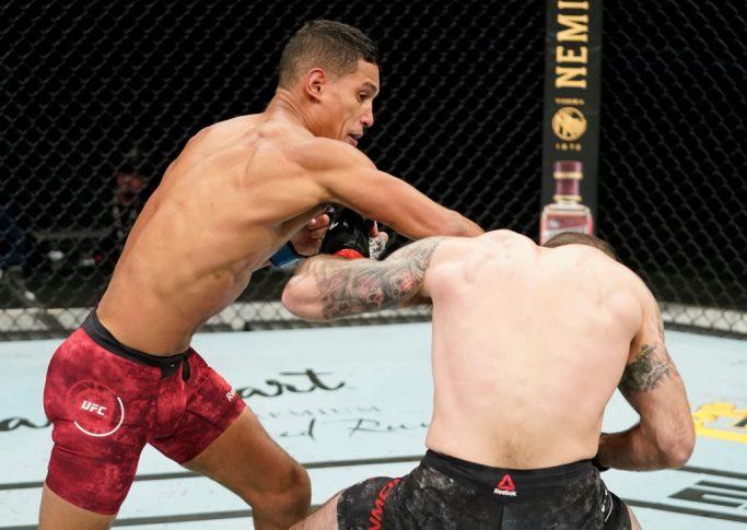 UFCファイトナイト・フロリダ:マット・ブラウン vs. ミゲル・バエザ【アメリカ・フロリダ州ジャクソンビル/2020年5月16日(Photo by Cooper Neill/Zuffa LLC via Getty Images)】