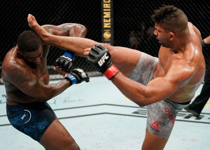 UFCファイトナイト・フロリダ:アリスター・オーフレイム vs. ウォルト・ハリス【アメリカ・フロリダ州ジャクソンビル/2020年5月16日(Photo by Cooper Neill/Zuffa LLC via Getty Images)】