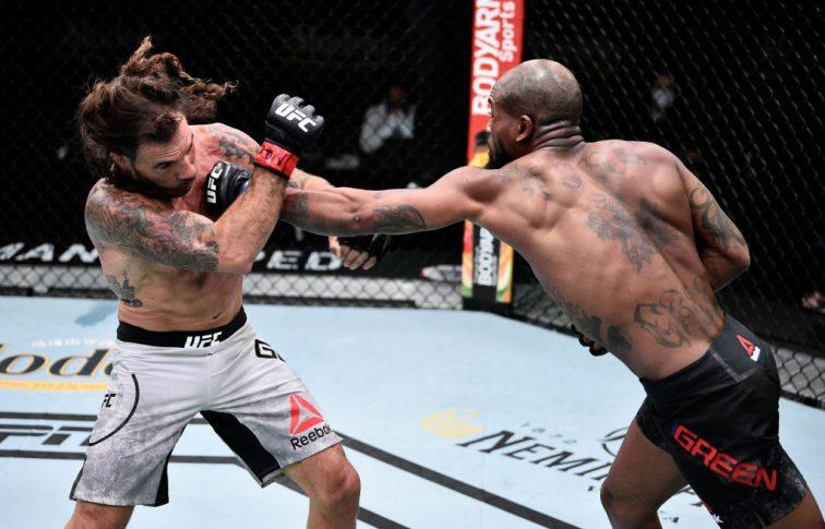 UFCファイトナイト・ラスベガス 3:クレイ・グイダ vs. ボビー・グリーン【アメリカ・ネバダ州ラスベガス/2020年6月20日(Photo by Chris Unger/Zuffa LLC)】